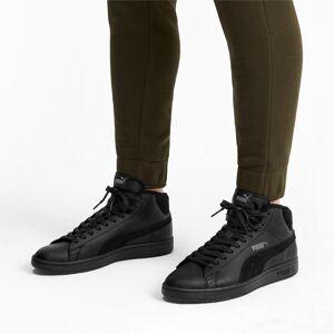PUMA Chaussure montante Smash v2 Mid Winterized en cuir pour Homme, Noir/Gris, Taille 47, Chaussures - Publicité