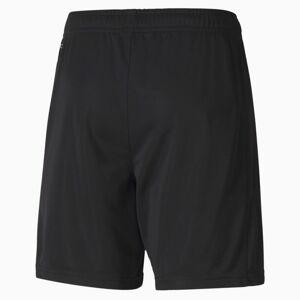 PUMA Short de goal Man City Replica Youth pour Enfant, Noir/Gris, Taille 140, Vêtements - Publicité