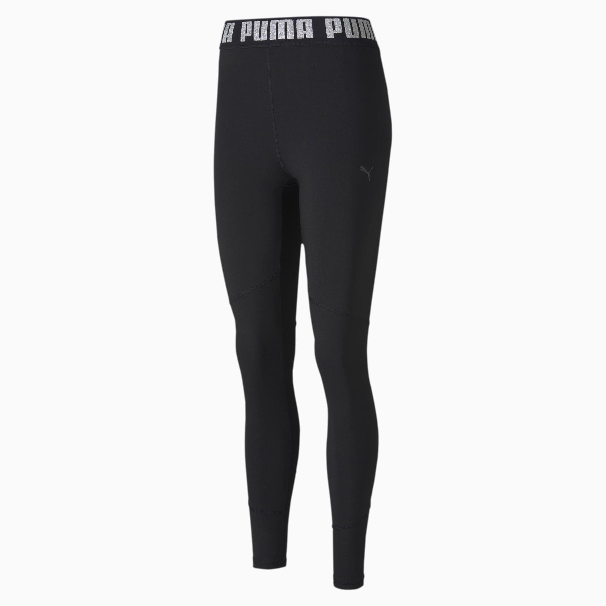 PUMA Collant Favourite Elastic 7/8 Training pour Femme, Noir, Taille L, Vêtements