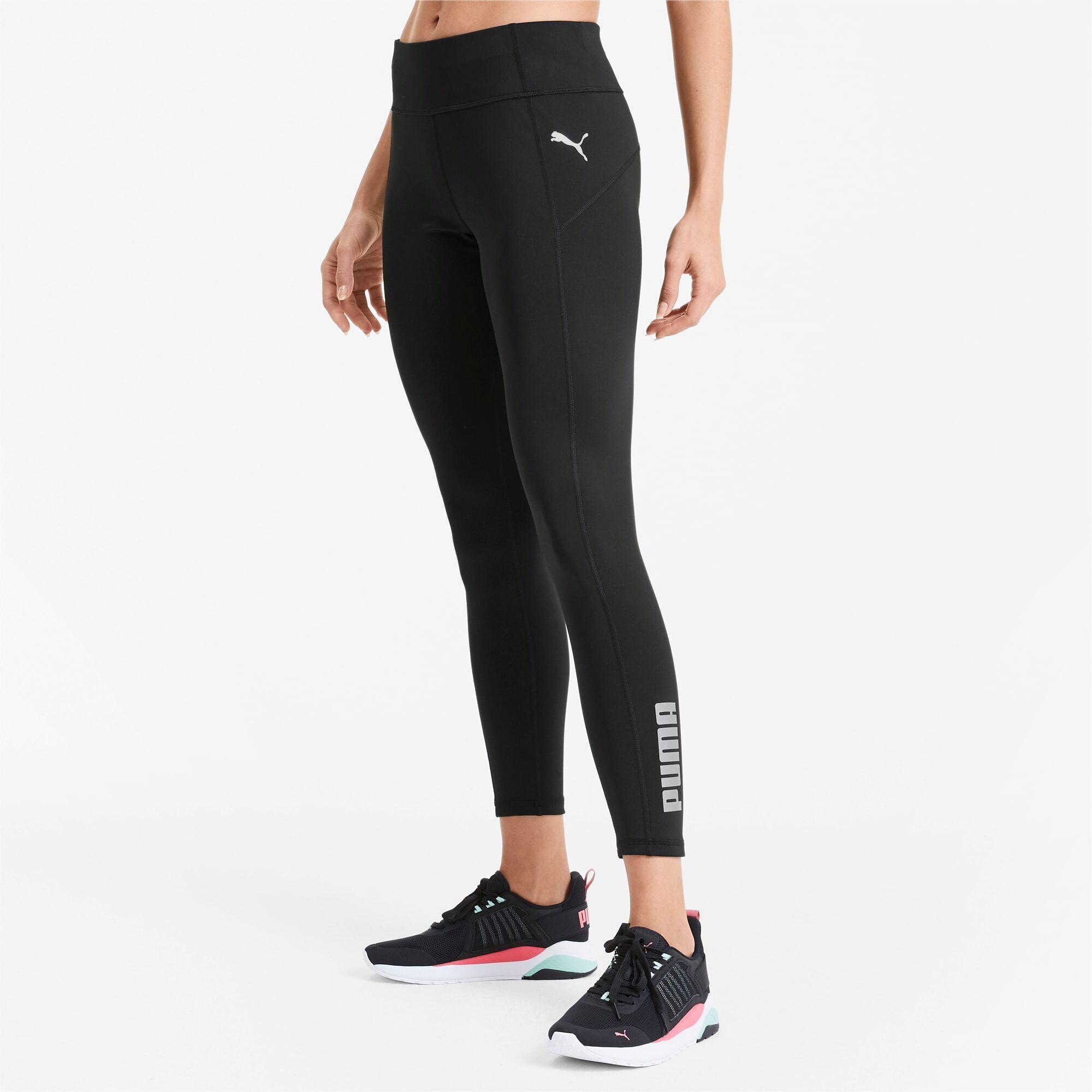 PUMA Collant Polyester Training pour Femme, Noir, Taille L, Vêtements