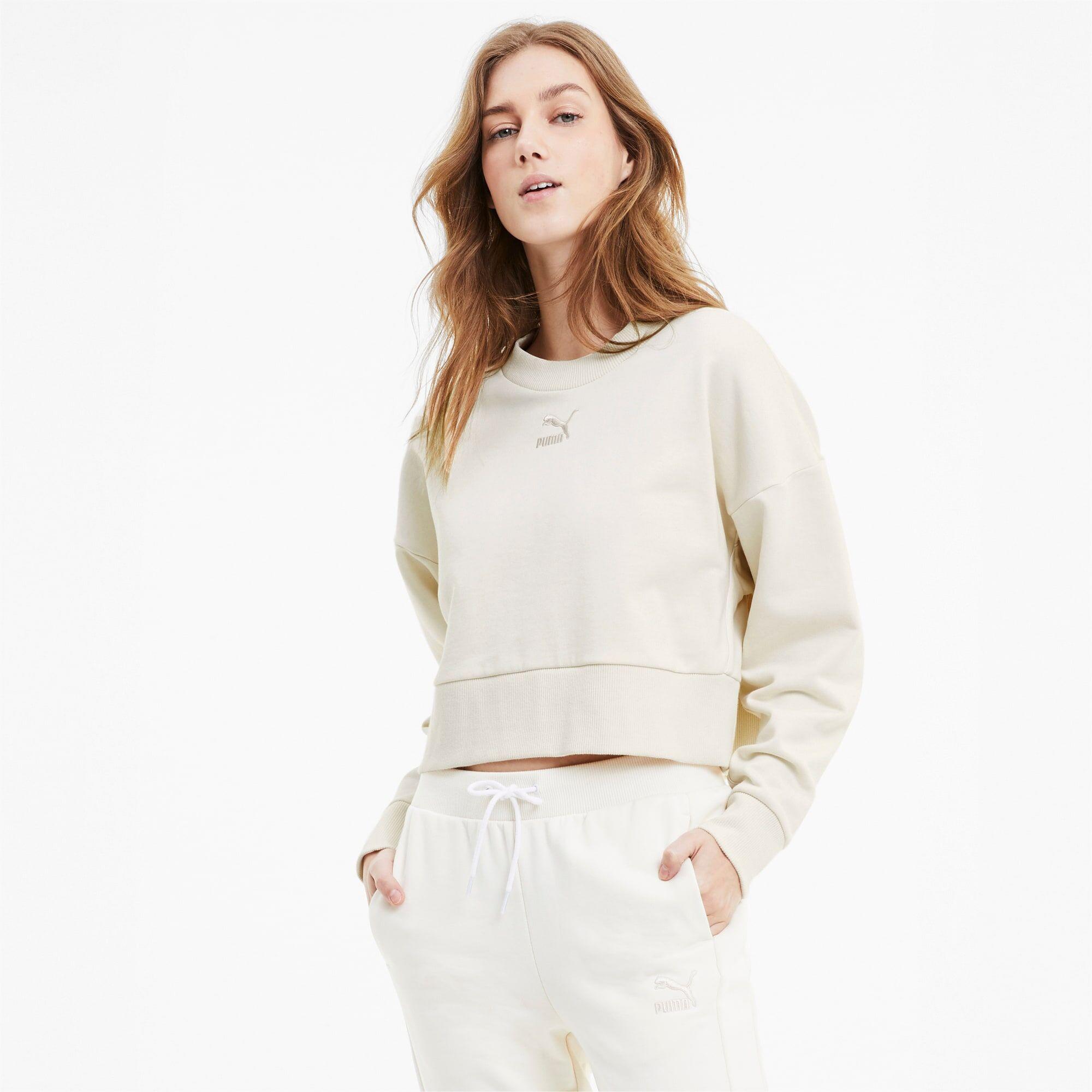 PUMA Sweat Bye Dye Classics court pour Femme, Taille XS, Vêtements
