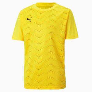 PUMA T-Shirt de foot ftblNXT Graphic Core pour enfant, Jaune/Noir, Taille 116, Vêtements