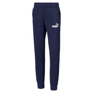PUMA Pantalon en sweat Essentials pour garçon, Bleu, Taille 104, Vêtements - Publicité