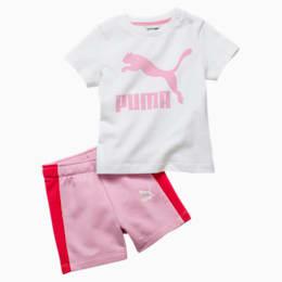 PUMA Set bébé Minicats T7, Rose, Taille 80, Vêtements