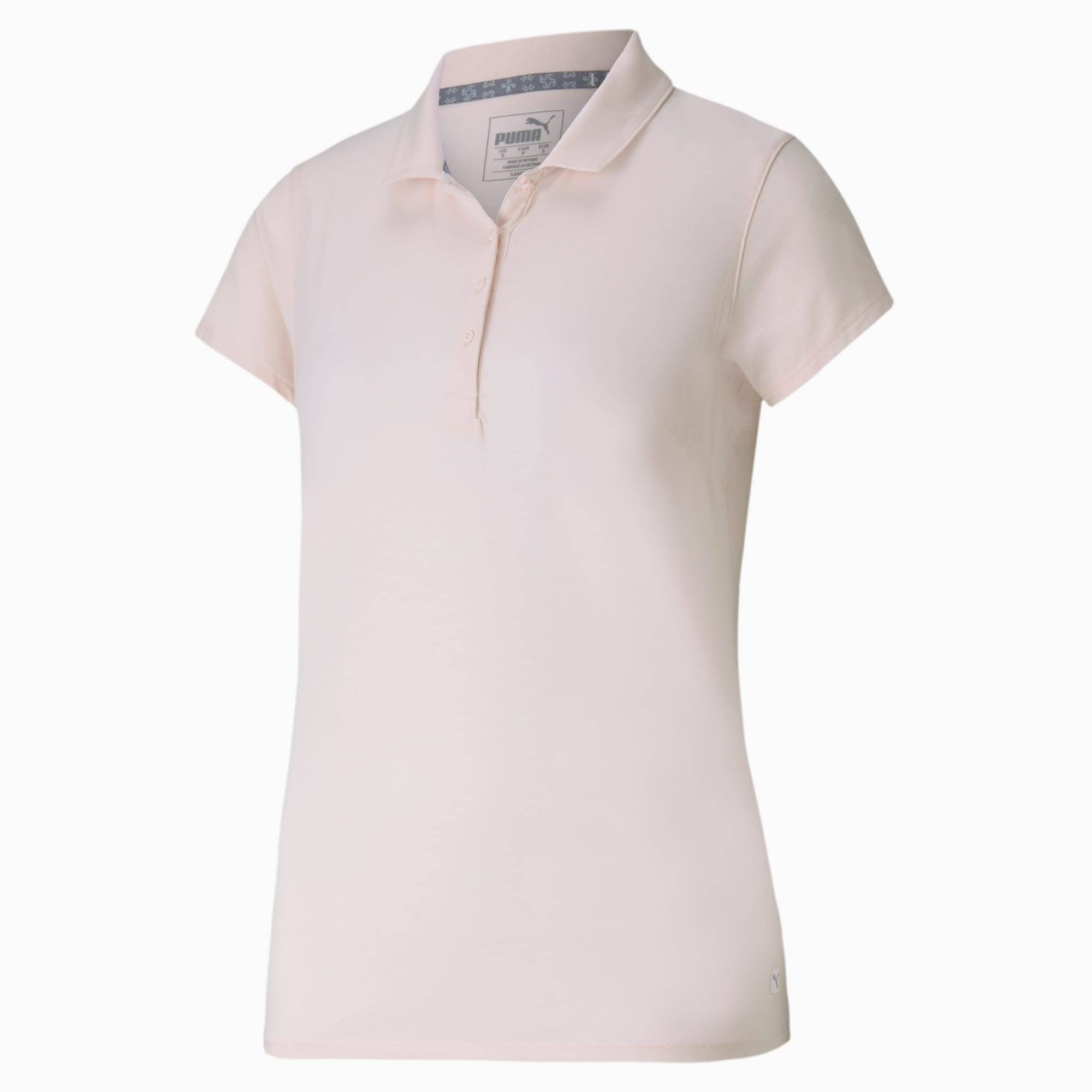 PUMA Polo de golf Fusion Mesh pour Femme, Rose, Taille XL, Vêtements