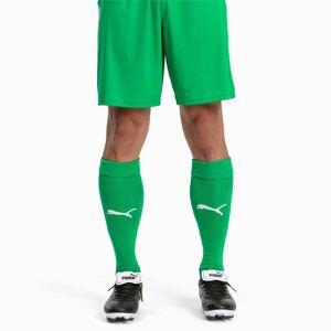 PUMA Chaussettes Football LIGA Core pour Homme, Vert/Blanc, Taille 39-42, Vêtements
