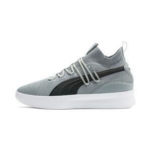 PUMA Chaussure de basket Clyde Court pour Homme, Gris/Noir, Taille 40, Chaussures - Publicité