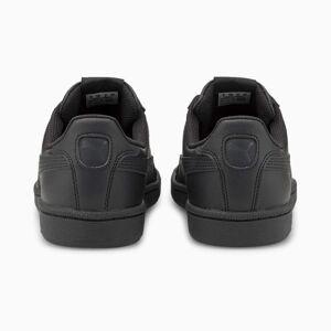 PUMA Chaussure Basket Smash en cuir, Noir, Taille 46.5, Chaussures - Publicité