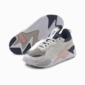 PUMA Chaussure Basket RS-X Softcase, Blanc/Noir, Taille 40, Chaussures - Publicité