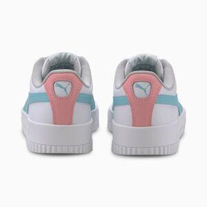 PUMA Chaussure Basket Carina L Youth pour fille, Blanc, Taille 38, Chaussures - Publicité