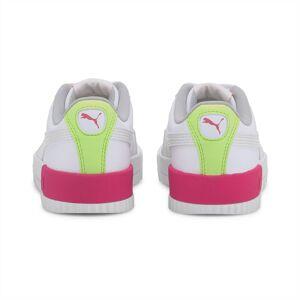 PUMA Chaussure Basket Carina Vivid Youth pour Enfant, Blanc, Taille 37, Chaussures - Publicité