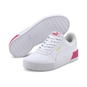 PUMA Chaussure Basket Carina Vivid Youth pour Enfant, Blanc, Taille 38, Chaussures - Publicité