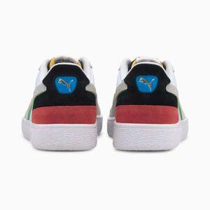 PUMA Chaussure Basket Ralph Sampson Signature, Blanc/Noir/Rouge, Taille 47, Chaussures - Publicité