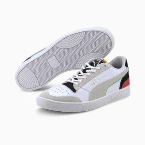 PUMA Chaussure Basket Ralph Sampson Signature, Blanc/Noir/Rouge, Taille 42.5, Chaussures - Publicité