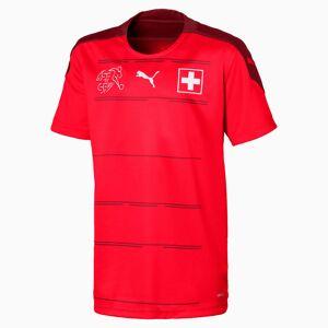 PUMA Suisse Replica kinderjersey, thuistenue pour Homme, Rouge, Taille 116, Vêtements - Publicité