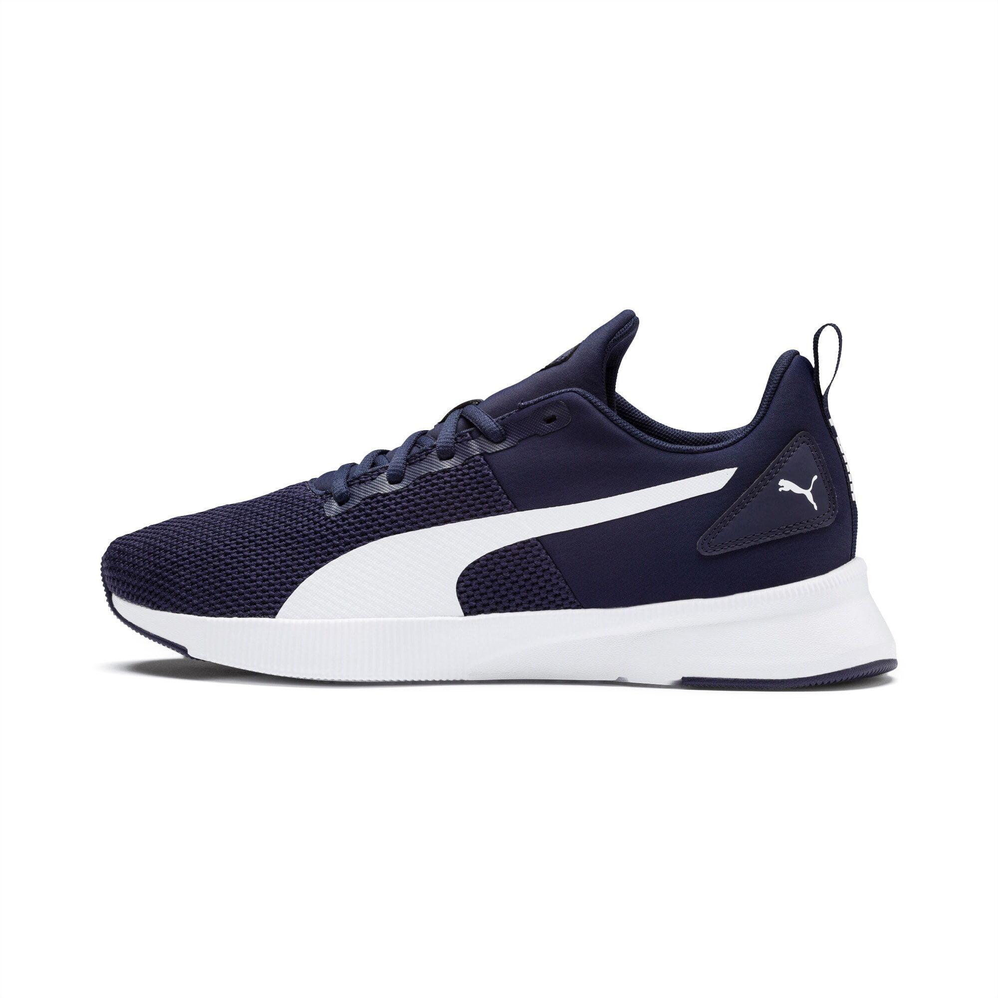 PUMA Chaussure de course Flyer Runner, Bleu/Blanc, Taille 47, Chaussures
