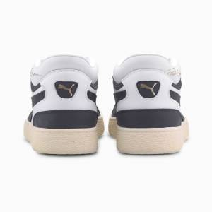 PUMA Chaussure Basket Ralph Sampson Low OG, Blanc/Bleu, Taille 41, Chaussures - Publicité