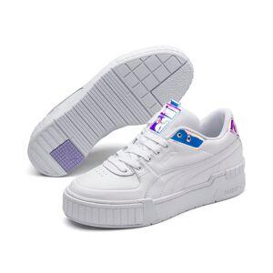 PUMA Chaussure Basket Cali Sport Glow pour Femme, Blanc/Violet/Bruyère, Taille 37, Chaussures - Publicité