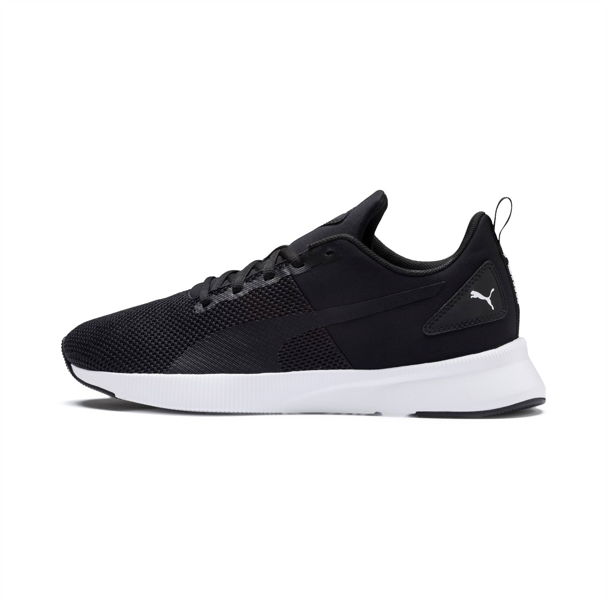 PUMA Chaussure de course Flyer Runner, Noir/Blanc, Taille 35.5, Chaussures