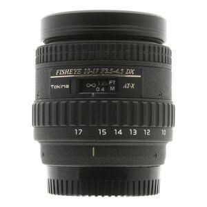 Tokina pour Nikon 10-17mm 1:3.5-4.5 AT-X AF DX Fisheye noir