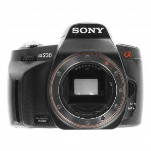 Sony Alpha 230/DSLR-A230 noir refurbished - Publicité
