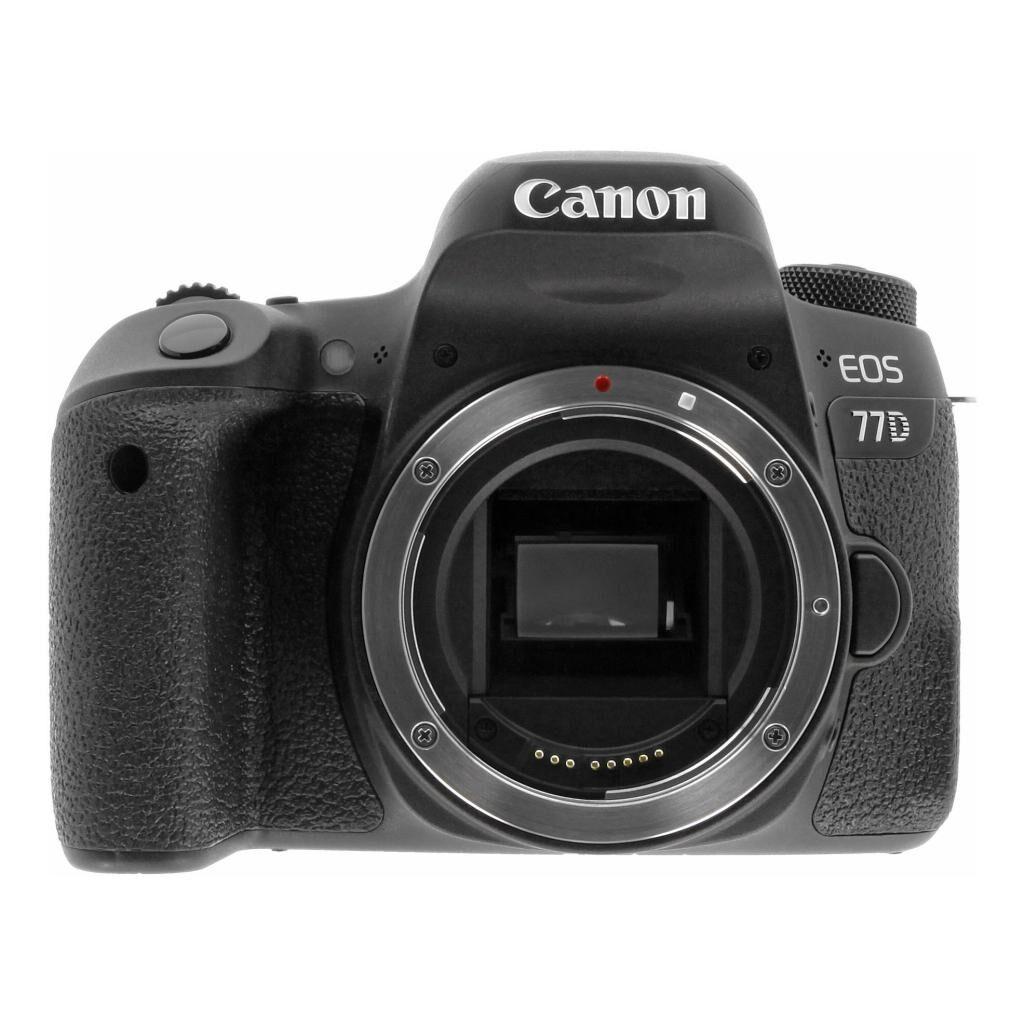 Canon EOS 77D noir refurbished