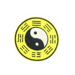 En gros Offre Spéciale haute qualité taiji potins Feng Shui série broderie patch personnalisé design