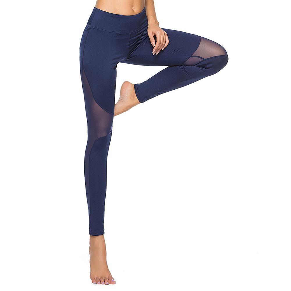 Pantalons de Yoga écologiques pour filles   Pantalons de Yoga serrés, pantalons d'entraînement de course serrés, leggings de sport Slim féminins