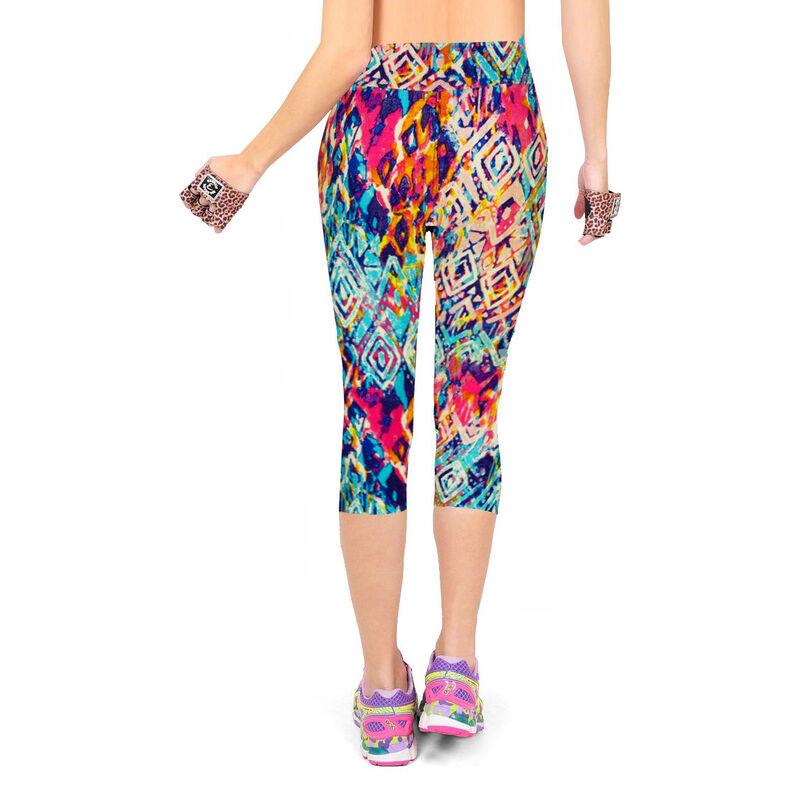 En gros Pas Cher Motif Coloré Pantalons de Yoga