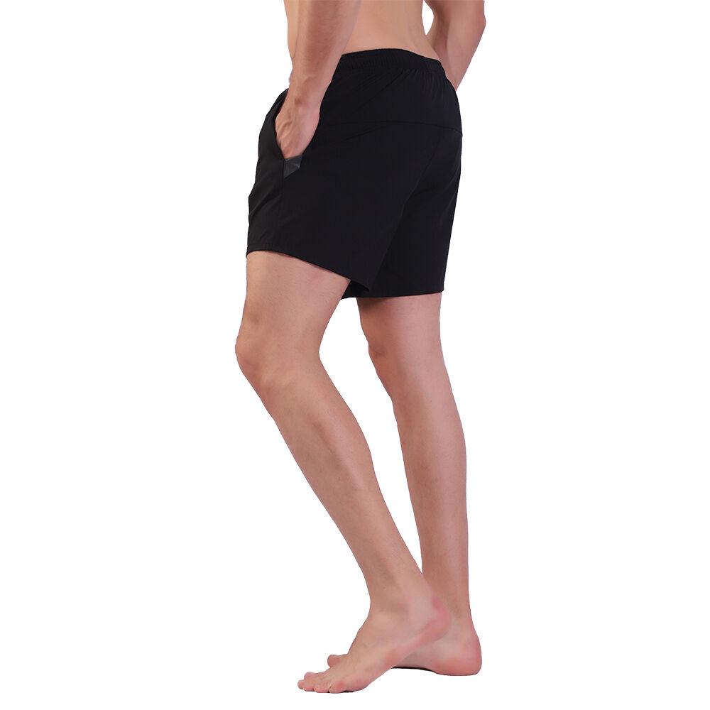 Pas cher hommes short de course gym entraînement personnalisé short de yoga en gros haute élasticité short fitness