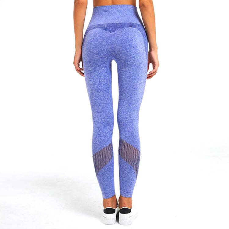 Vêtements de sport écologiques   Vêtements de Fitness sans couture pour femme, Harem Spandex personnalisés, pantalons de Yoga serrés et vierges pour gymnastique