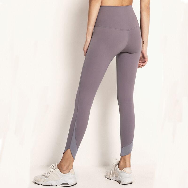 7/8 Maille Leggings avec Poche En Nylon Spandex Leggings Anti-cellulite Sport Extensible Femmes Yoga Pantalon Legging Fitness Femme