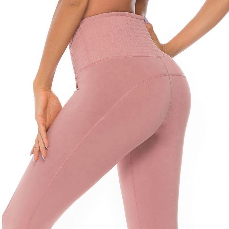 Meilleur vendeur fiber cloche bottoma femmes leggings porter sublimation écologique anti-cellulite yoga pantalon