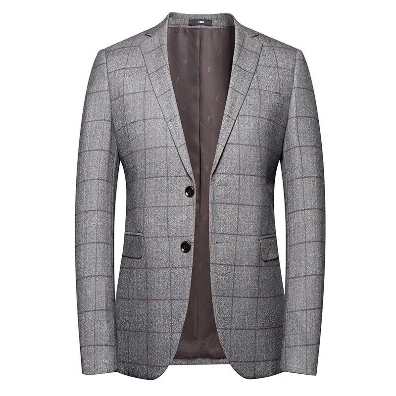 Ensemble de blazer deux boutons pour hommes   82.7% Polyester 17.3%, tissu Viscose, Anti-rétrécissement