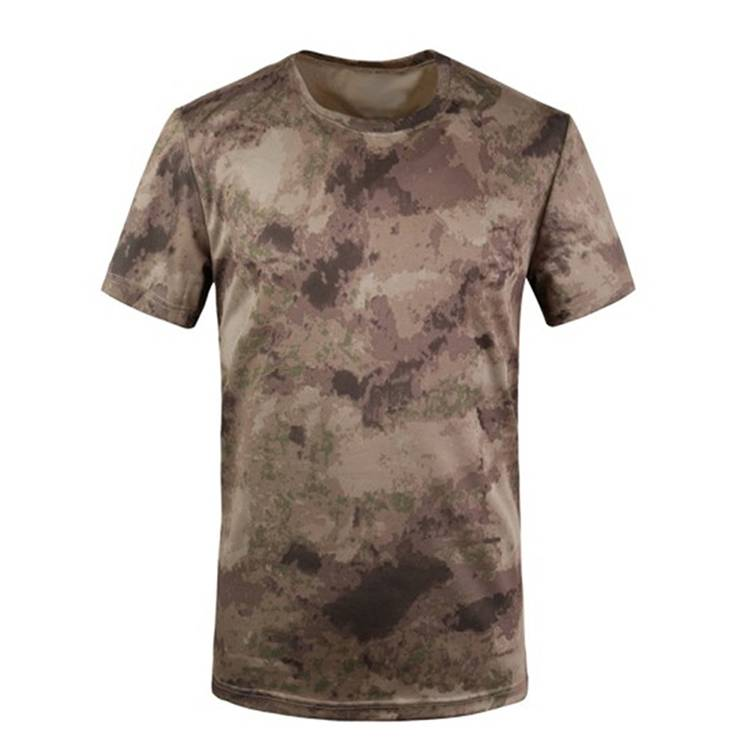 En gros Pas Cher Extérieur Pur Camouflage Personnalisé T-shirt