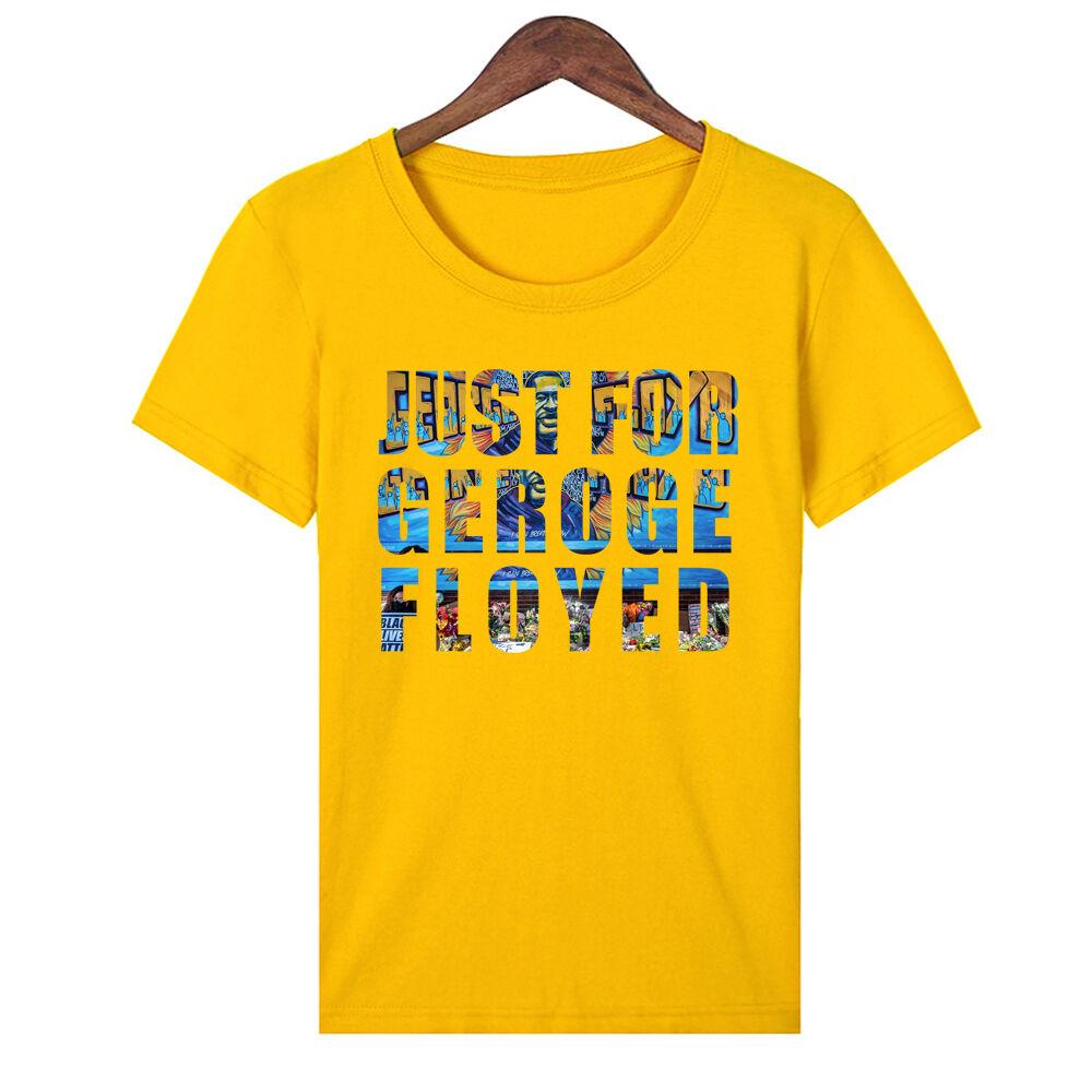 Épais coton pas cher en gros blanc et 5 couleurs 1.00 Juste pour Black lives matter Hommes t-shirt