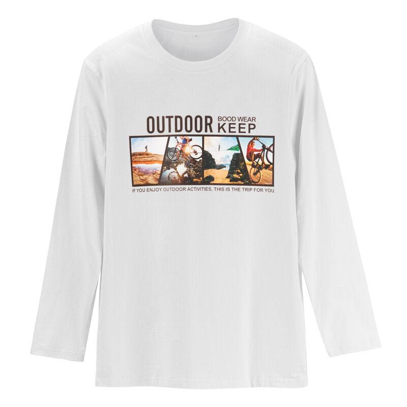 En gros pas cher en vrac 100 coton filles garçons à manches longues t-shirt personnalisé impression t-shirt enfant