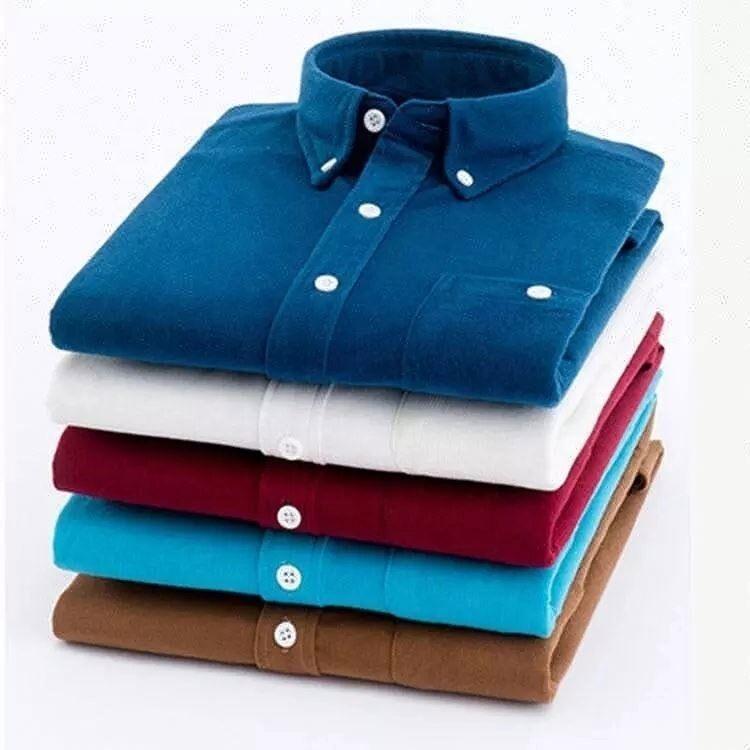 Blanc Logo Personnalisé Impression Pas Cher Maison À Manches Longues En Velours Côtelé Polo T-shirt pour les Hommes
