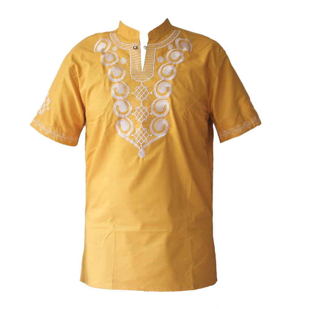 T-shirt brodé pour hommes   T-shirt à boutons de Polo personnalisés 100% coton, vente en gros