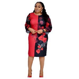 Offre Spéciale automne Décontracté en mousseline de soie + Robes femmes africaines robe robes - Publicité
