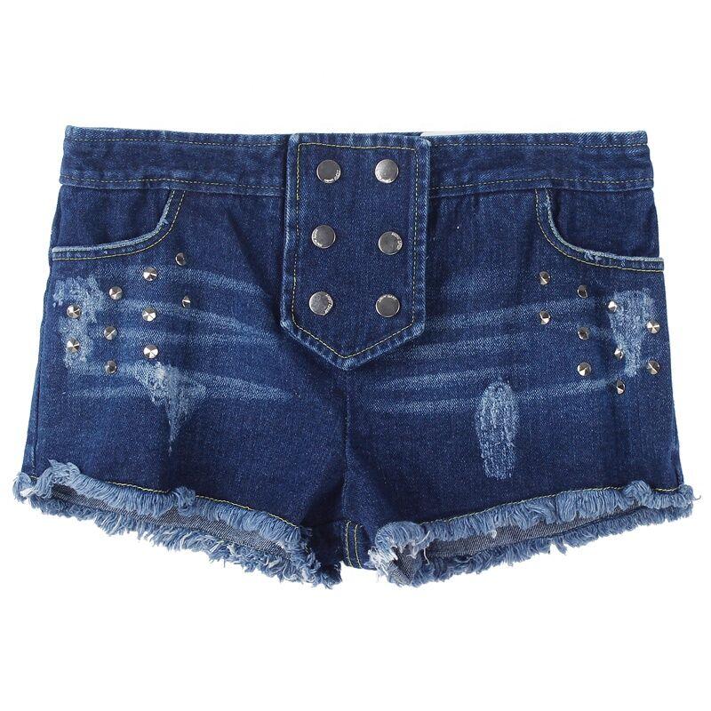 Top marque usine prix Filles shorts Pas Cher de haute qualité en stock denim jeans Exportation Vers Le Japon, la Corée du sud, le Vietnam