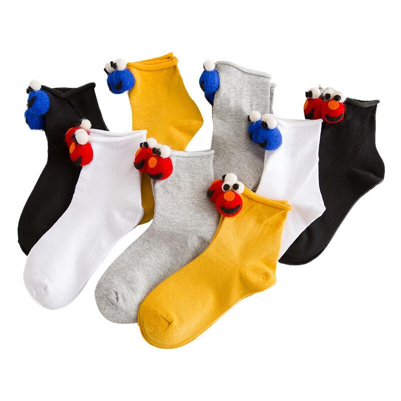 Nouvelles femmes chaussettes tube drôle chaussettes casual hiver chaussettes