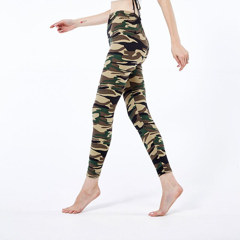 En gros Pas Cher Indien Dames Legging Camouflage pour L'été
