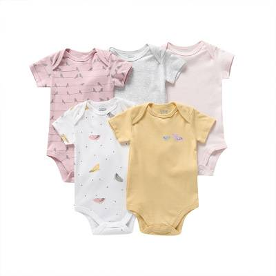 Chine Fournisseurs Bébé Neutre de Haute Qualité D'été En Lin Impression Personnalisée 100% Coton bio Bébé Vêtements Barboteuse En Ligne