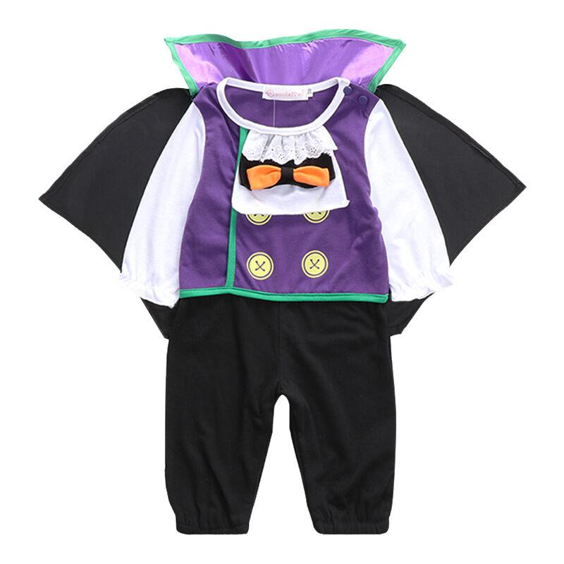 Nouveau-né vêtements ensemble bébé 100% coton Halloween bébé été bébé garçon barboteuse
