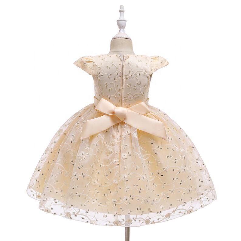 Mode Été Coton Bébé Vêtements Robe Sans Manches Filles Sur Mesure Robes De Fille De Fleur