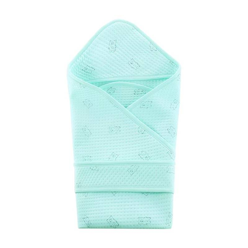 Couette de nouveau-né en coton   Couette de bébé, printemps et automne, tapis, couverture d'été épaisse