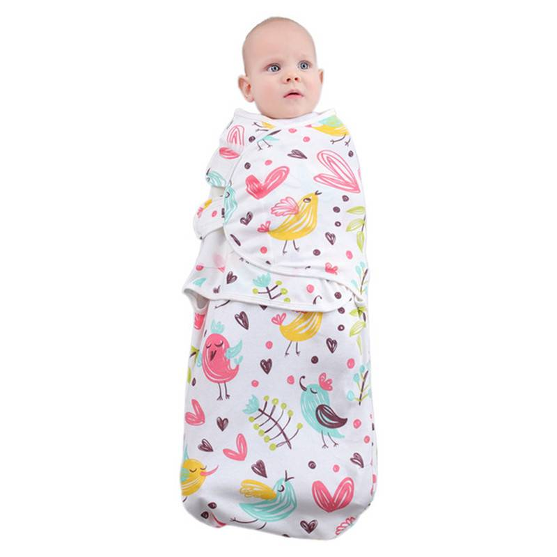 Nouveau-né Bébé Swaddle wrap Doux et confortable en coton bébé sac de couchage