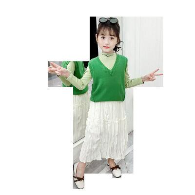 Haute qualité belle robe en coton printemps bébé vêtements pour enfants pour les filles