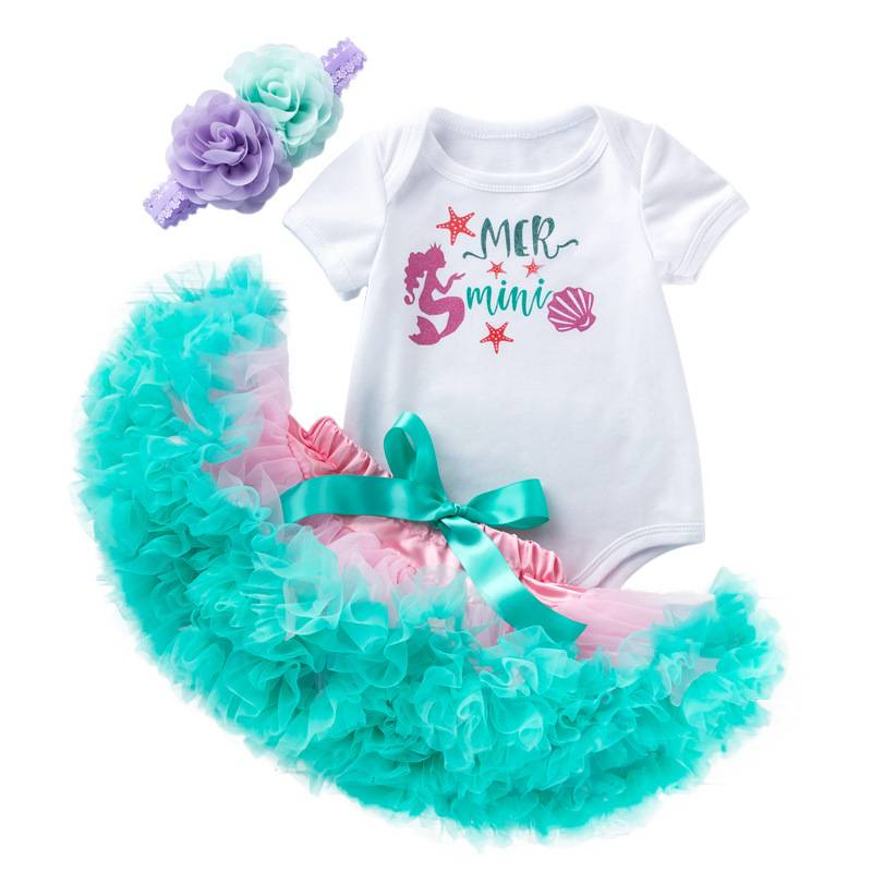 Ensemble de cadeau de Vêtements de Bébé En Coton Naturel Nouveau-Né Vêtements d'été Personnalisé